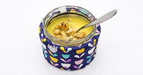 Hustá krémová polievka z maslovej tekvice